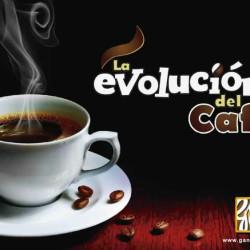 TAZA BLANCA CON CAFE